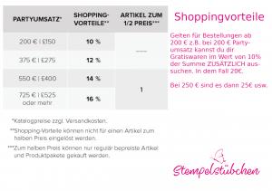 Shoppingvorteil-Stampin-Up