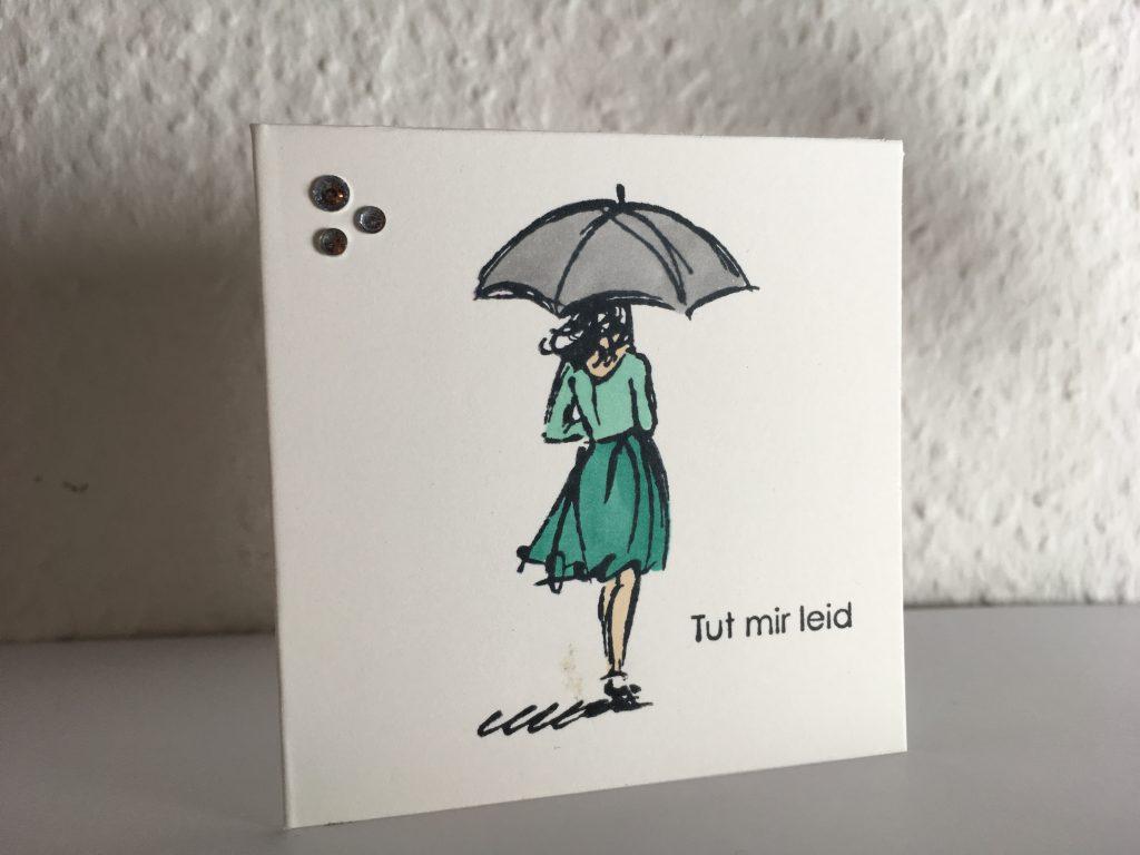 Mit Stil-Stampin Up-Karte Frau