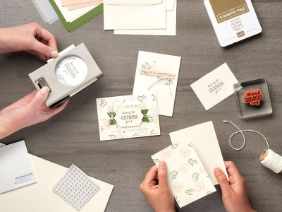 Workshop Stampin Up Rostock