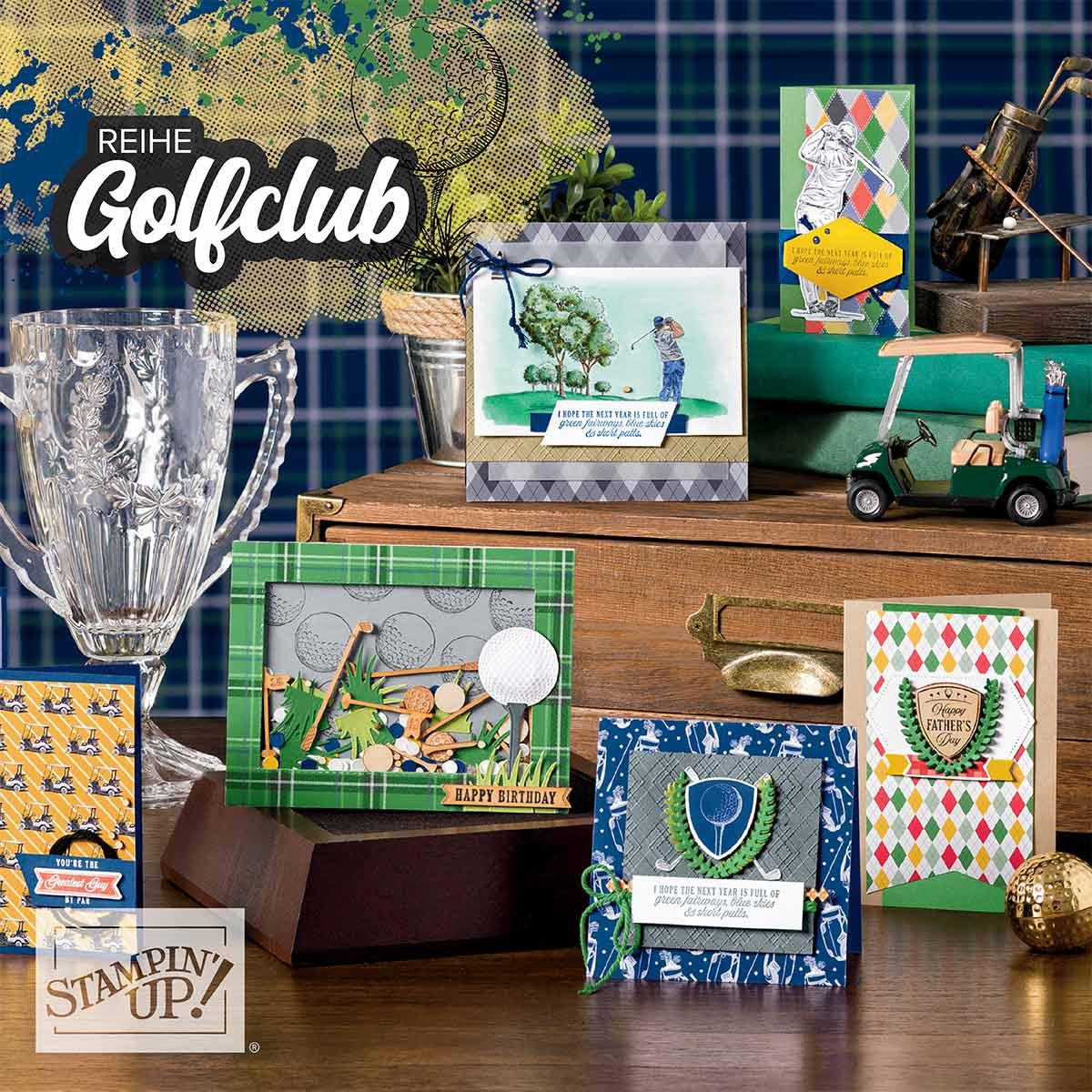 Golfclub-Stampin Up