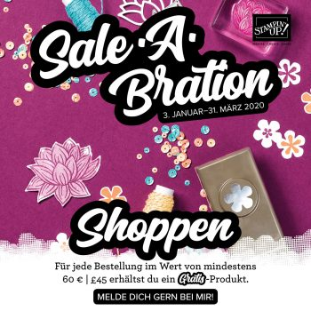 Stampin Up-Sale-a-bration