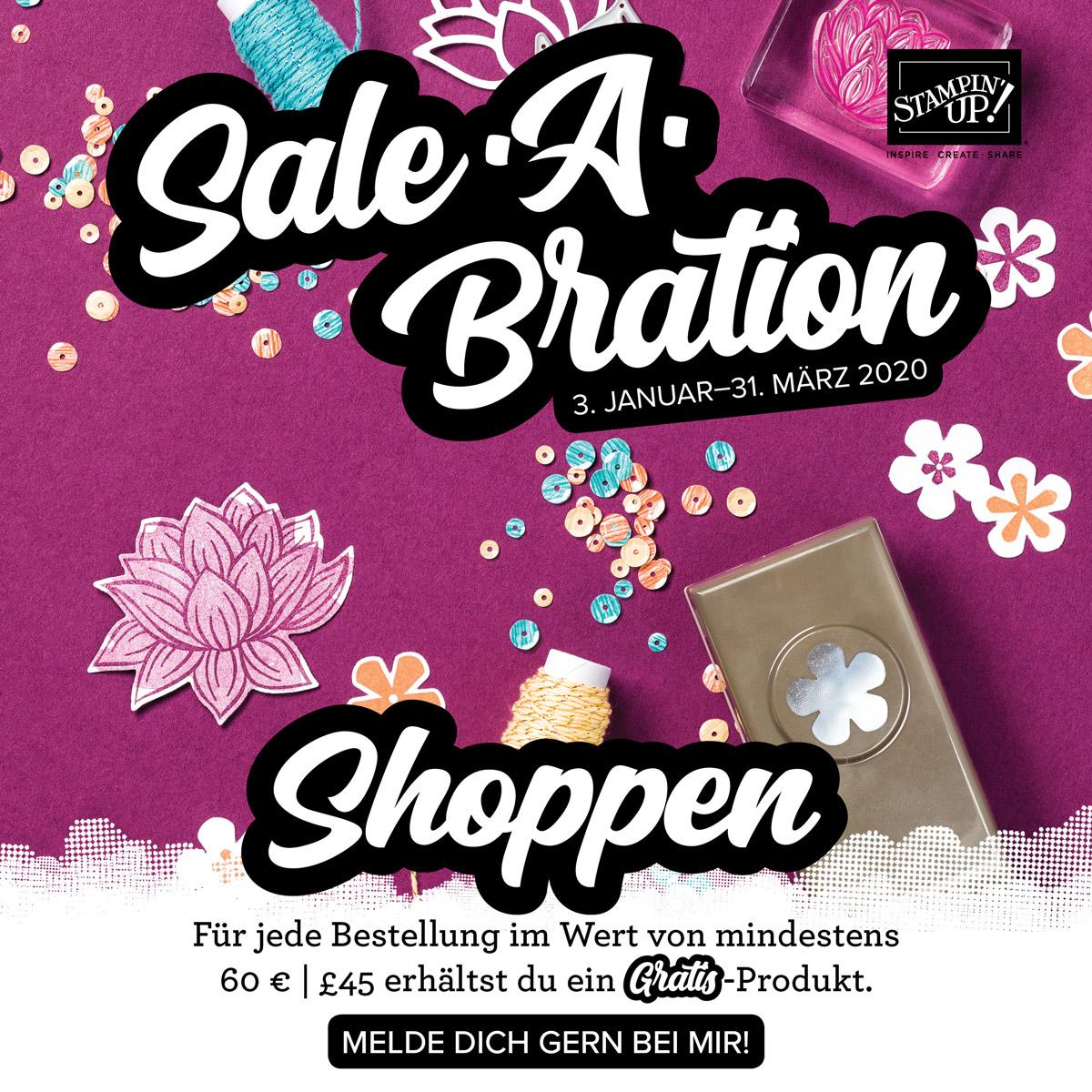 Stampin Up-Sale-a-bration