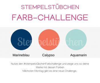 Farb-Challenge Stempelstübchen Farbkombination Stampin Up