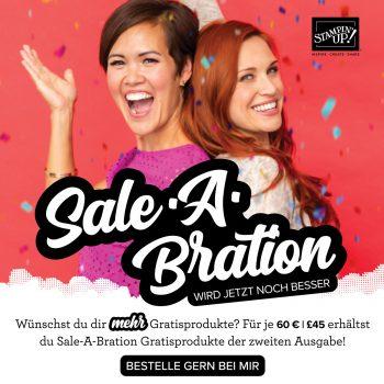 Stampin Up Sale a Bration 2020