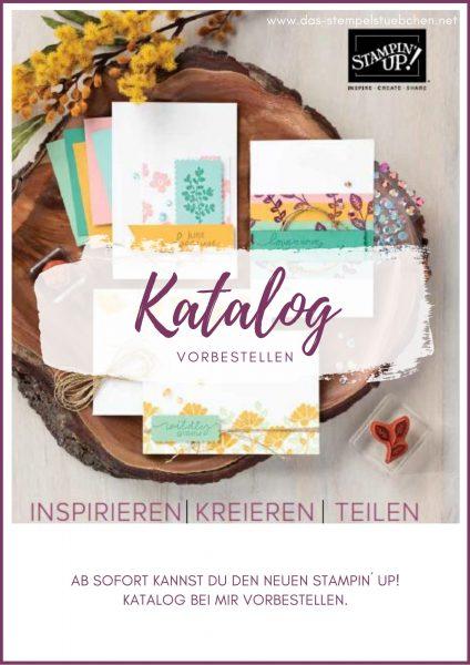 Stampin Up Katalog bestellen - vorbestellen