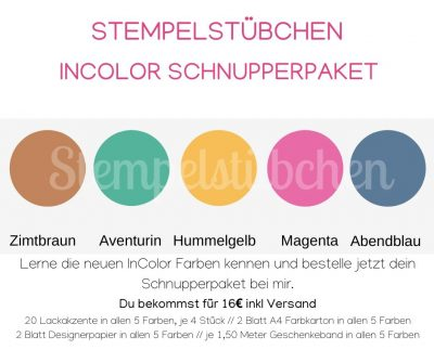 incolor Farben Stampin Up 2020