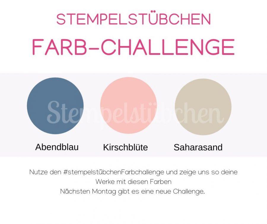 Stempelstübchen Stampin Up Farbchallenge
