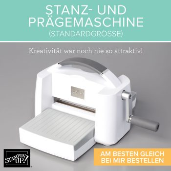 Prägemaschine Big Shot neu Stampin Up