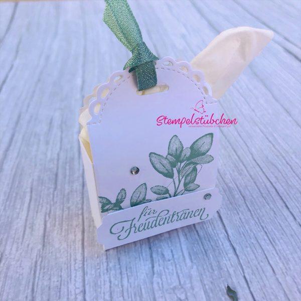 Stampin Up Mini Geschenkschachtel basteln Geschenke