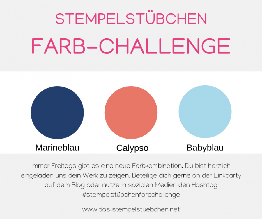 Farb-Challenge Stampin Up Color Combo Color Coach Farbkombination