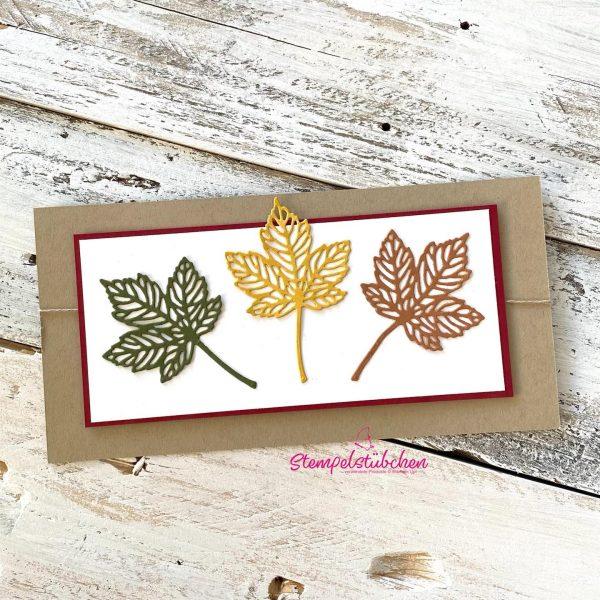 Grußkarte Herbst Stampin Up